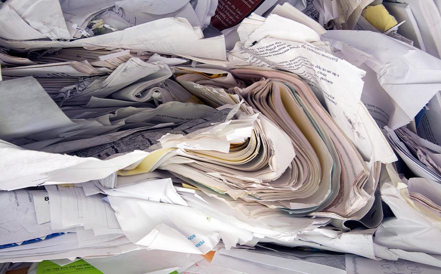 Sterta papierów